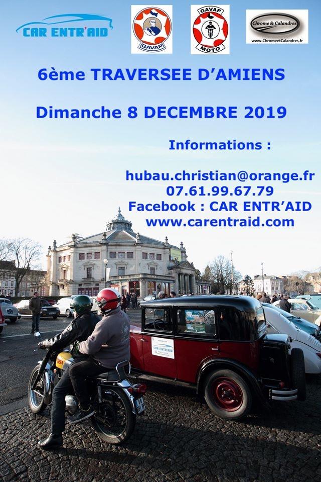 MANIFESTATION - 6ème traversée D'Amiens - Dimanche 8 Décembre 2019 - Dury les Amiens (80) 5de11e10