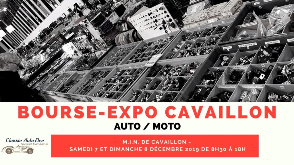 MANIFESTATION - Bourse Expo Cavaillon - 7 & 8 Décembre 2019 - Cavaillon  5de13510