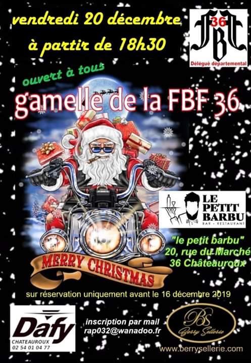 MANIFESTATION - FBF -Vendredi 20 Décembre 2019  - Châteauroux - (36) 5df0f810
