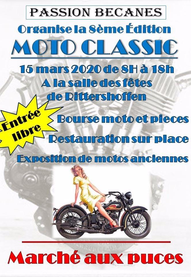 MANIFESTATION - 8ème Moto Classic - 15 Mars 2020 Rittershoffen  5df10710