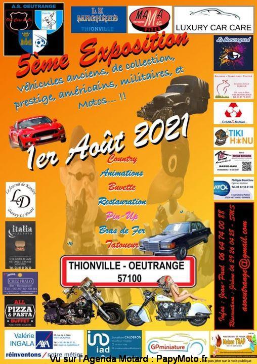 MANIFESTATION - 5 éme Exposition - 1er Aout 2021 - Thionville- Oeutrance (57100) 5e-exp11