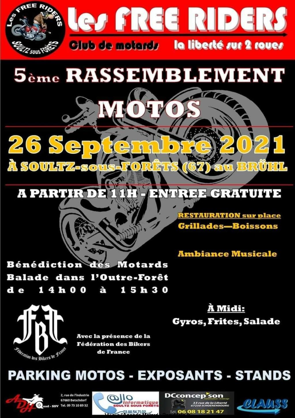 MANIFESTATION - 5ème Rassemblement Motos - 26 Septembre 2021 - Soultz-sous-Forêts (67) 5e-ras10