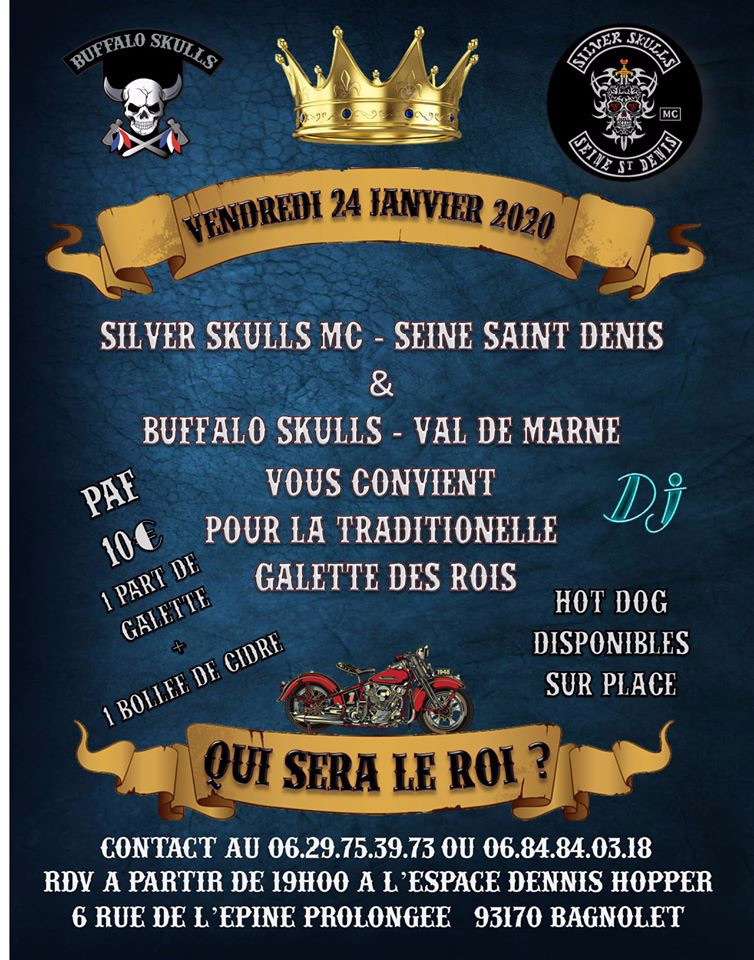 MANIFESTATION - Silver Skulls MC - 24 Janvier 2020 - Bagnolet (93170) 5e0e3b10