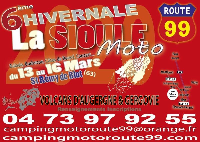 MANIFESTATION - 6 ème Hivernale  - 13 au 16 Mars  2020 - St Rémy de Blot (63) 5e0e4210