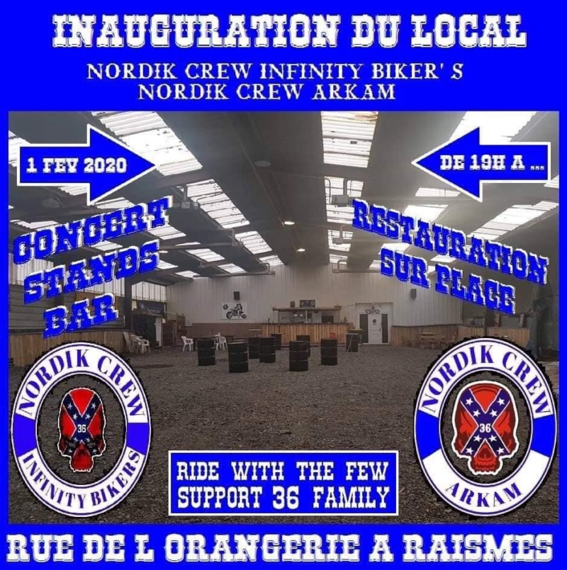 MANIFESTATION - Inauguration Local - 1er Février 2020 - Raismes (59) 5e1c7910