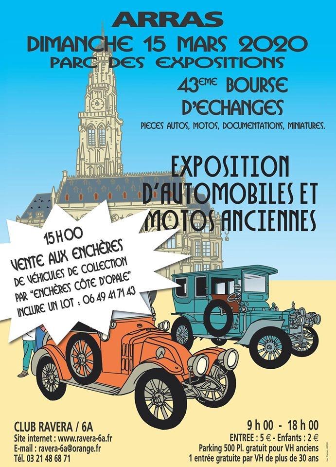 MANIFESTATION - 43ème Bourse D'échanges - 15 Mars 2020 - Arras  5e1dc710