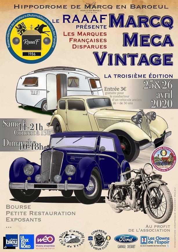 MANIFESTATION - Marcq Méga Vintage - 25 & 26 Avril 2020 - Marcq en Baroeul (59) 5e1dfd10