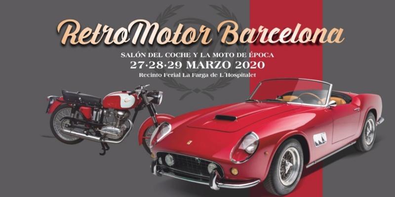MANIFESTATION - Rétro Motor Barcelona - 27-28-29 Marzo 2020 - Barcelone (08901 Espagne) 5e1f3611