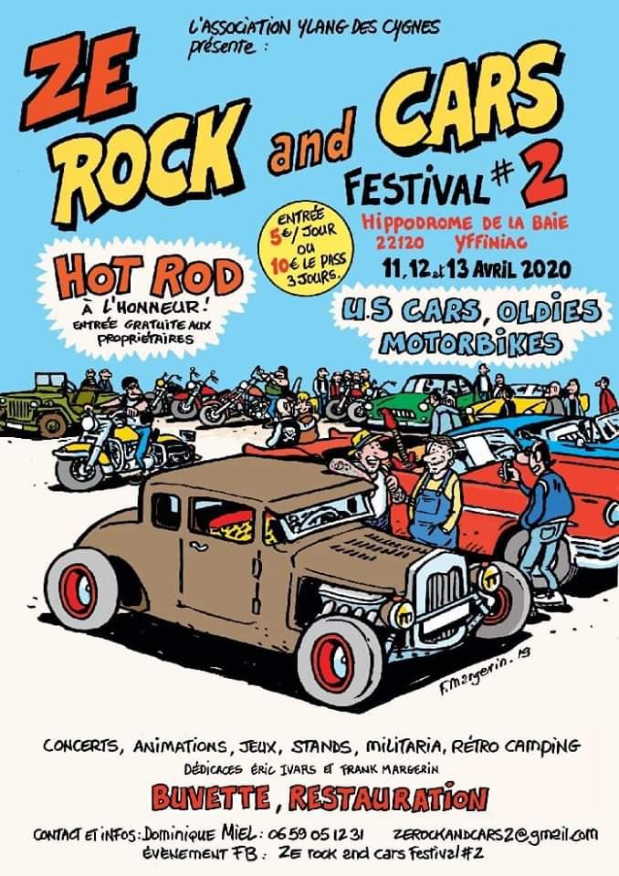 MANIFESTATION - Ze Rock and Cars Féstival - 11-12-13 Avril 2020 - Yffignac (22120) 5e332711