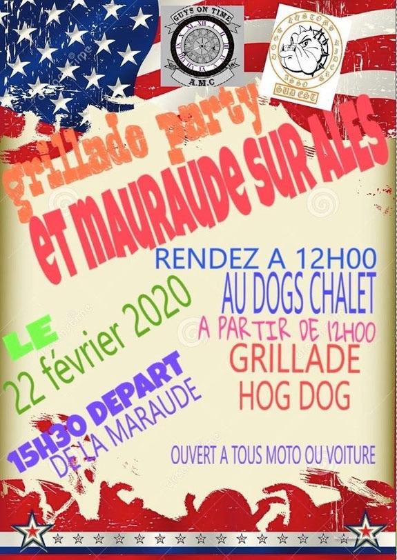 MANIFESTATION - Grillade Party & Maraude Sur Ales- 22 Février 2020 - Nîmes (30) 5e471311