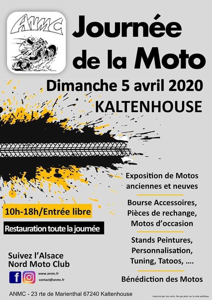 MANIFESTATION - Journée de la Moto - Dimanche 5 Avril 2020 - Kaltenhouse (67240) 5e53de10