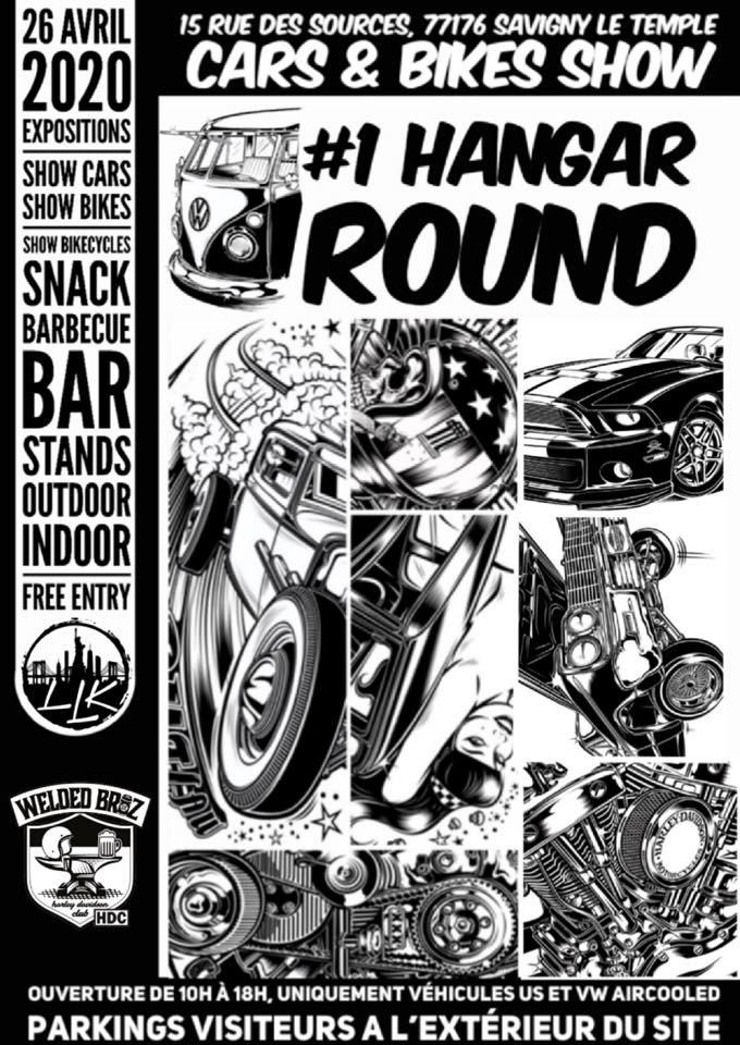 MANIFESTATION - 1er Hangar Round - 26 Avril 2020 - Savigny Le Temple - (77176) 5e556110