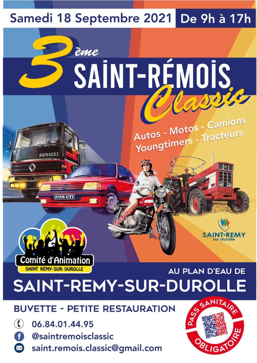 MANIFESTATION - 3ème Saint-Rémois Classic - Samedi 18 Septembre 2021 - Saint-Rémy-sur-Durolle 6139dc10