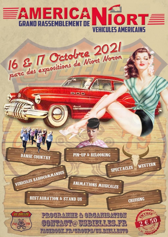 MANIFESTATION - Américan Niort - 16 & 17 Octobre 2021 - Niort  61607e10