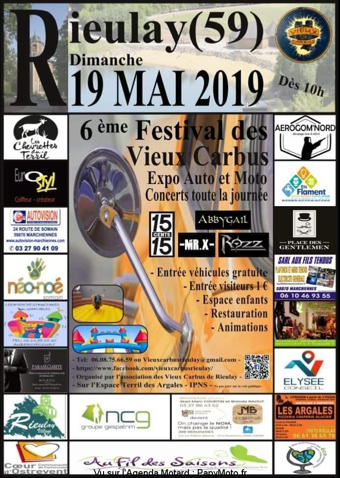 Festival des vieux Carbus - 19 Mai 2019 - Rieulay (59) 6e-fes11