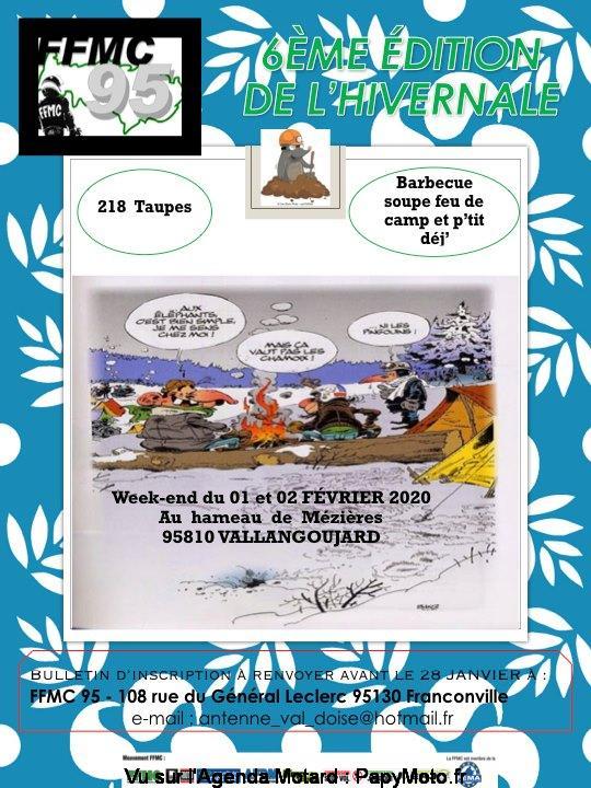 MANIFESTATION - 6éme Edition de L'Hivernale - 1 & 2 Février 2020 - Vallangoujard ( 95810) 6zome-10