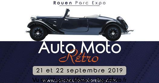 MANIFESTATION - Auto Moto Rétro - 21 & 22 Septembre 2019 - Parc Expo Rouen  70293410