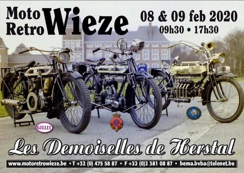 MANIFESTATION - Moto Rétro - 8 & 9 Février 2020 - Wieze ( Belgique ) 75627310