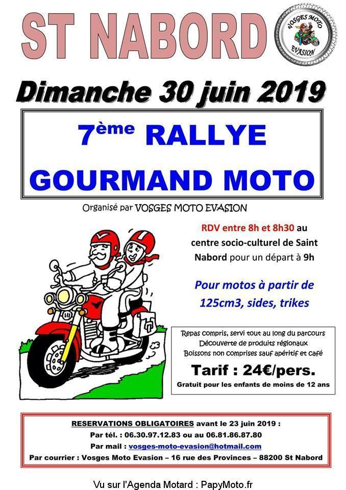 MANIFESTATION - Rallye Gourmand - Dimanche 30 Juin 2019 - Saint Nabord - (88) 7e-ral10