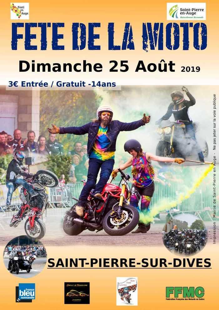 MANIFESTATION - Fete de la Moto - Dimanche 25 AOUT 2019 - Saint - Pierre - Sur -Dives 8a215910