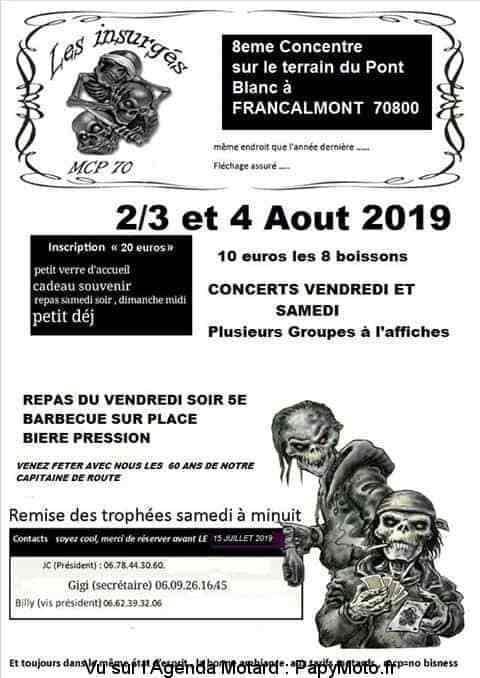 Manifestation - Concentration  2 - 3 - & 4 AOUT 2019 - Francalmont (70800) 8e-con11