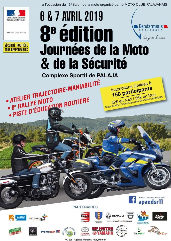 Journée de la Moto et de la Sécurité - 6 & 7 Avril 2019 - Palaja 8e-edi15