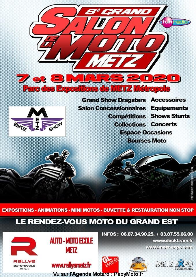 MANIFESTATION - Salon de la Moto - 7 & 8 Mars 2020 - Parc des Expositions Metz Métropole 8e-gra10