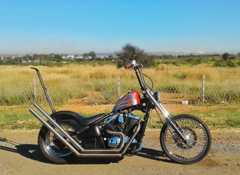 800 - chopper vn 800 vu sur le net  92846710