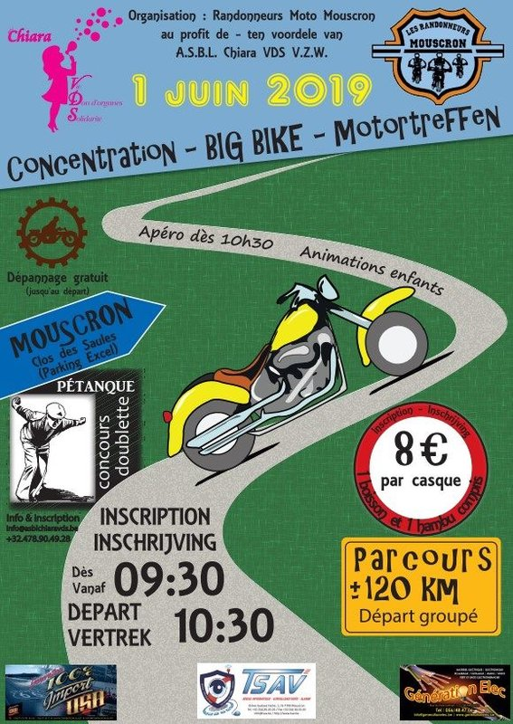 MANIFESTATION - Concentration - 1er Juin 2019 - MOUSCRON - Clos des Saules - (BELGIQUE) 96361710
