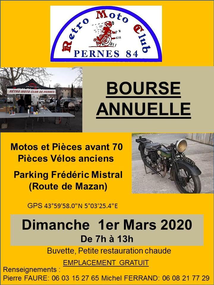 MANIFESTATION - Bourse Annuelle - 1er Mars 2020 - Pernes (84) 96c35e10