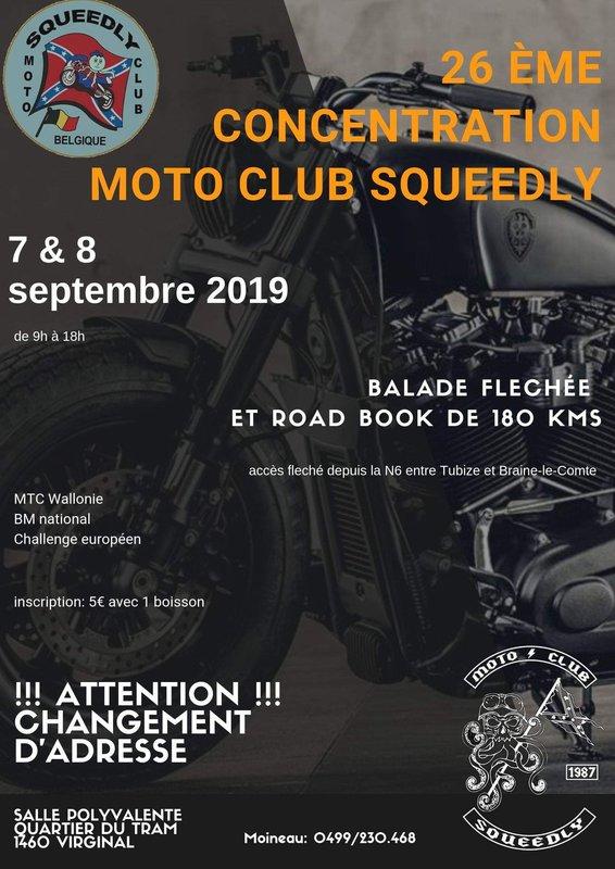 MANIFESTATION -  26 ème Concentration - 7 et 8 Septembre 2019- Virginal - Samme (1460) Belgique  98562410