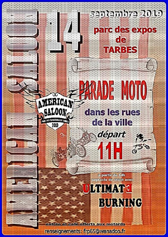 MANIFESTATION - Américan Saloon - Samedi 14 Septembre 2019 - Parc des Expos de TARBES _ly88510