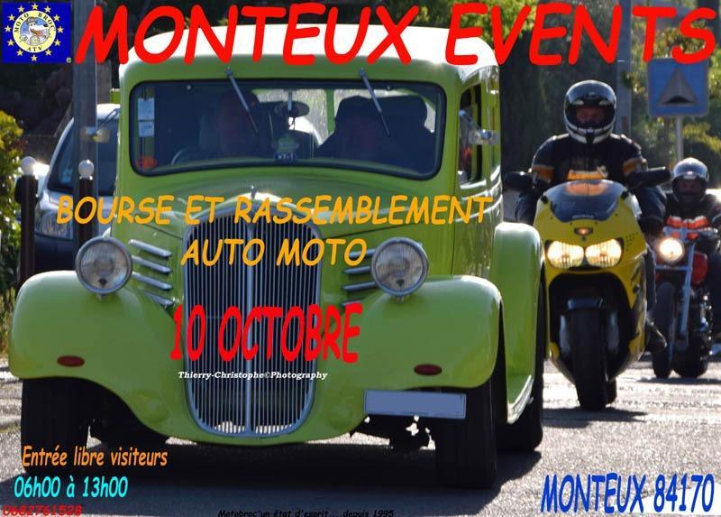 MANIFESTATION - Bourse & Rassemblement Auto Moto - 10 Octobre 2021 Monteux (84170) Ac27a410