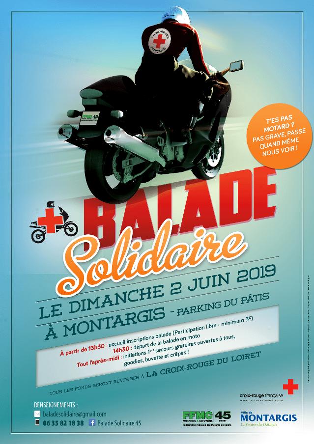 MANIFESTATION - Balade Solidaire - Dimanche 2 Juin 2019 - Montargis - Affich13