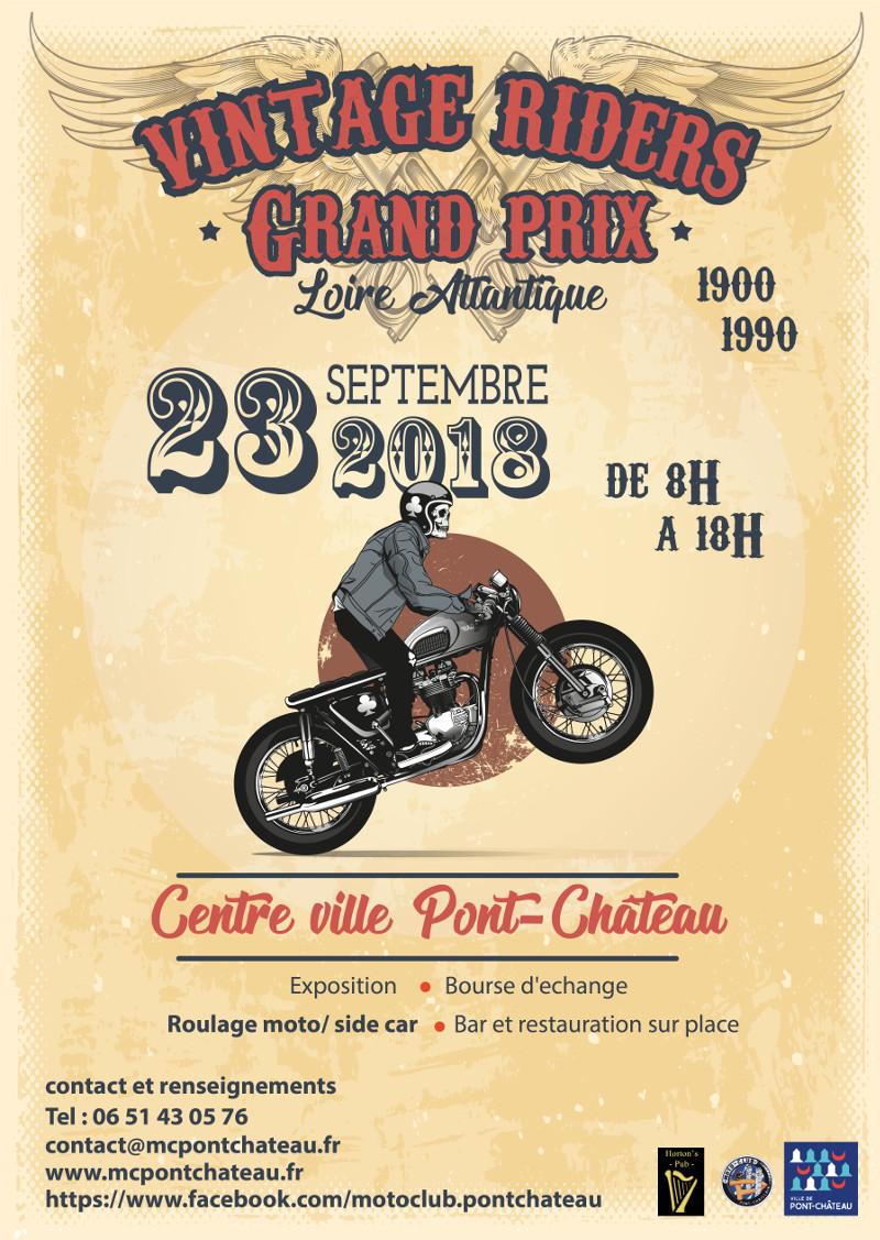 Manifestation - 23 septembre 2018 - centre ville Pont-Chateau Affich15