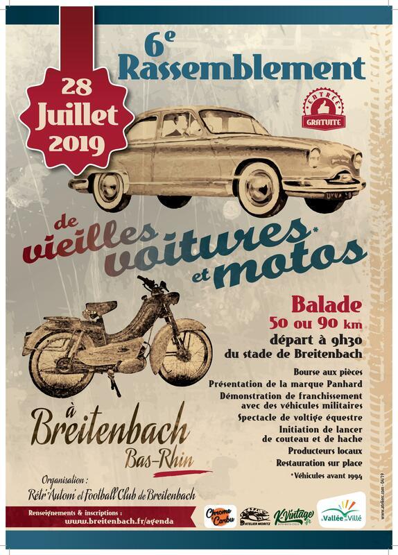 MANIFESTATION - Rassemblement - 28 Juillet 2019 - Breitenbach ( Bas - Rhin  Affich41
