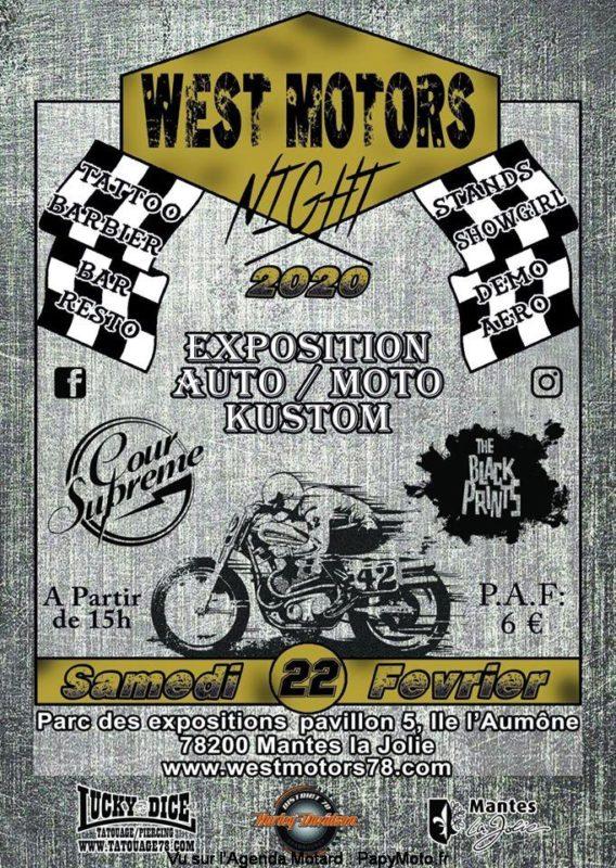 MANIFESTATION - Exposition Auto Moto Kustom - 22 Février 2020- Mantes La Jolie (78200) Affich58