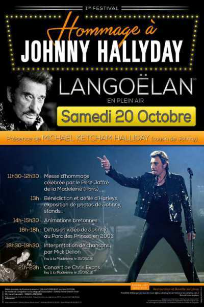 Hommage - JOHNNY  HALLYDAY - Samedi 20 octobre 2018 - Langoelan  Affjoh10