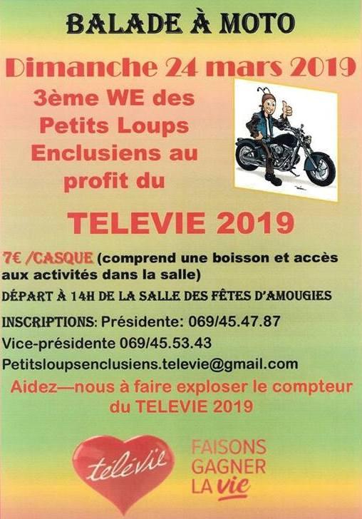 Balade Moto - Dimanche 24 Mars 2019 - AMOUGIES  Amougi10