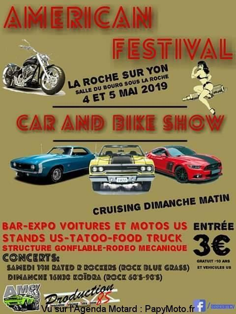 Américan Festival - 4 & 5 Mai 2019 - La Roche Sur Yon  (85)  Amzori20