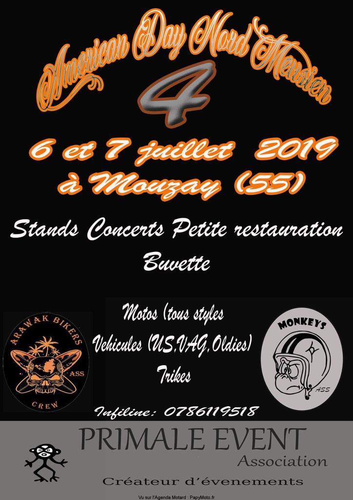 MANIFESTATION - Américan Day - 6 & 7 Juillet 2019 - Mouzay (55)  Amzori21