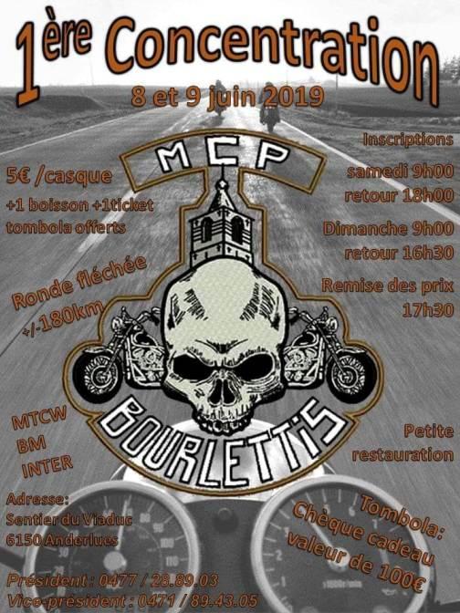 MANIFESTATION - 1er Concentration - 8 & 9 Juin 2019 - Anderlues (6150) Belgique  Anderl10
