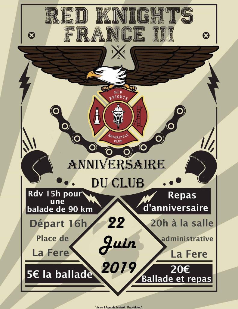 MANIFESTATION - Anniversaire du Club Red Knights - 22 Juin 2019 - La Fere Annive12