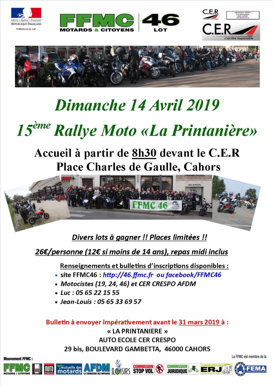 """Rallye Moto """"La Printanière"""" Dimanche 14 Avril 2019 - Cahors (46) Arton315"""