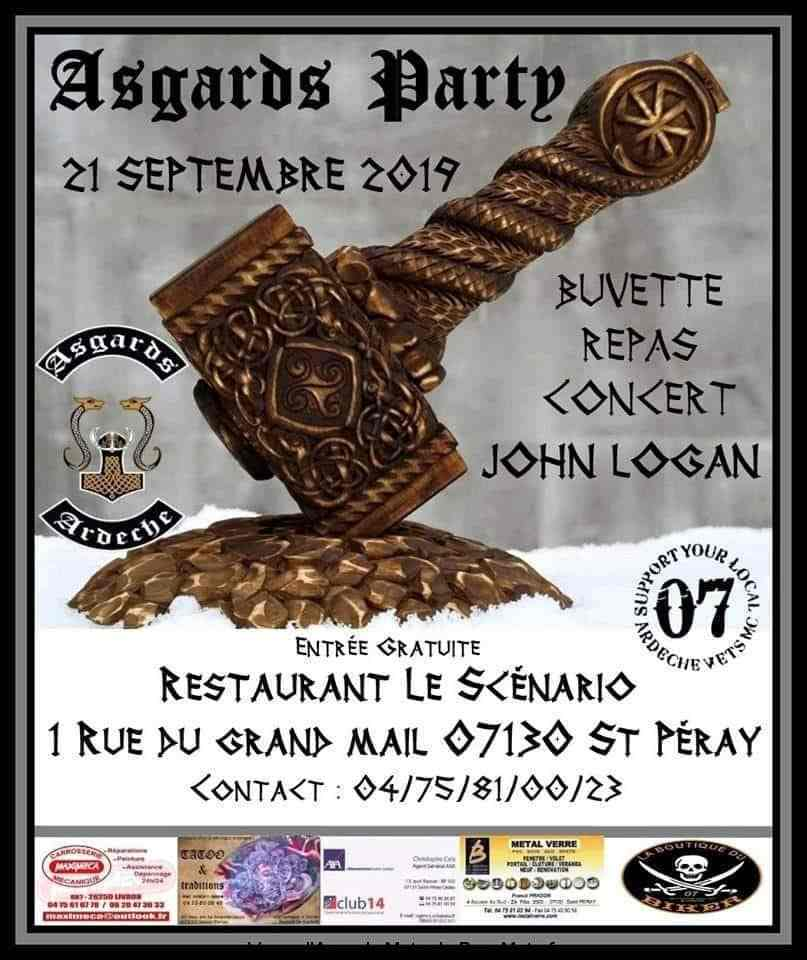 MANIFESTATION - Asgards Party - 21 septembre 2019 - Saint Péray  -07130       y Asgard11