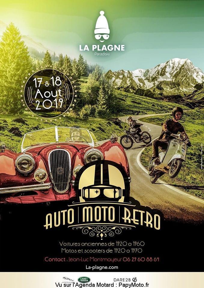 MANIFESTATION - Auto Moto Rétro - 17 & 18 AOUT 2019 - La Plagne (73) Auto-m10