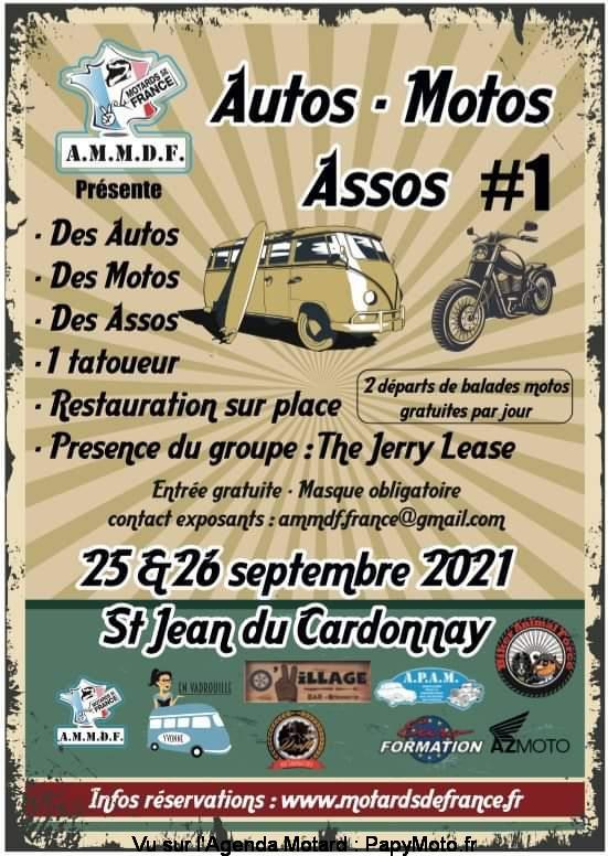MANIFESTATION - Autos & Motos Assos - 25 & 26 Septembre 2021 - St Jean du Cardonnay  Autos-10