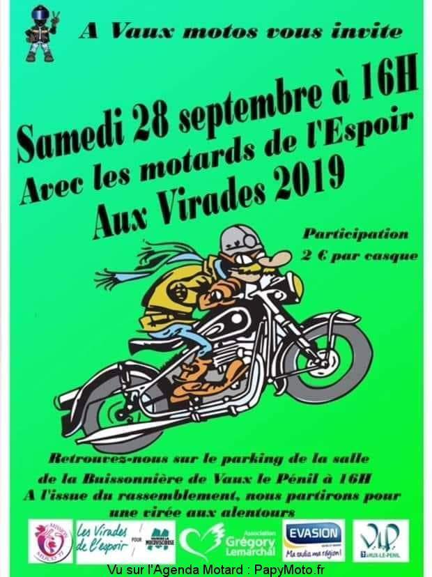 MANIFESTATION - Balade - Samedi 28 Septembre 2019 -Vaux le Pénil  Avec-l10