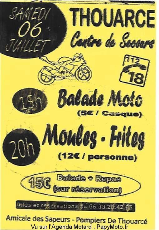 MANIFESTATION - Balade Moto - Samedi 6 Juillet 2019 - Thouarce Balad102