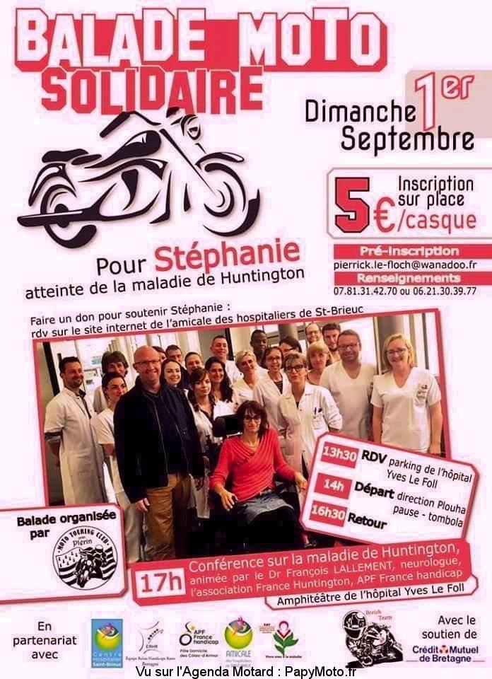 MANIFESTATION - Balade  Moto Solidaire - 1er Septembre 2019 - Saint Brieuc (22)   9 -  Balad108